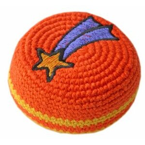 Embroidered Crocheted Footbag